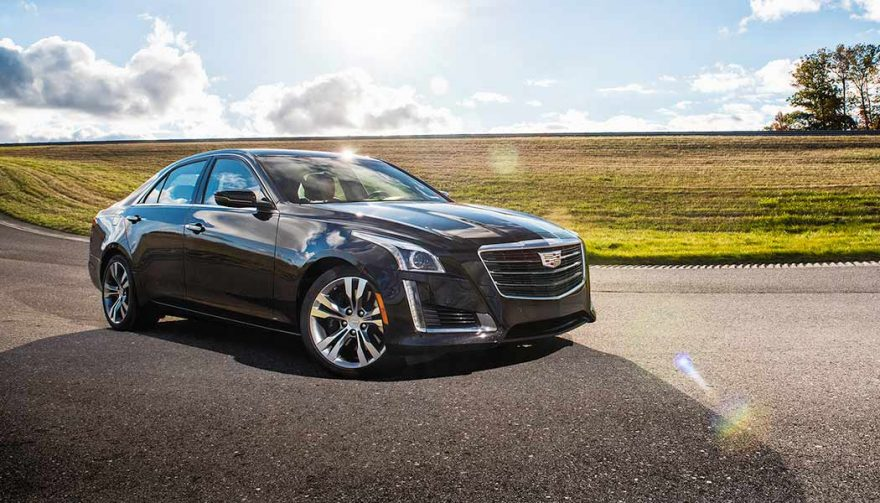 The 2018 Cadillac CTS