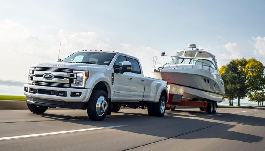 The Ford F-450 Super Duty is the best truck for towing