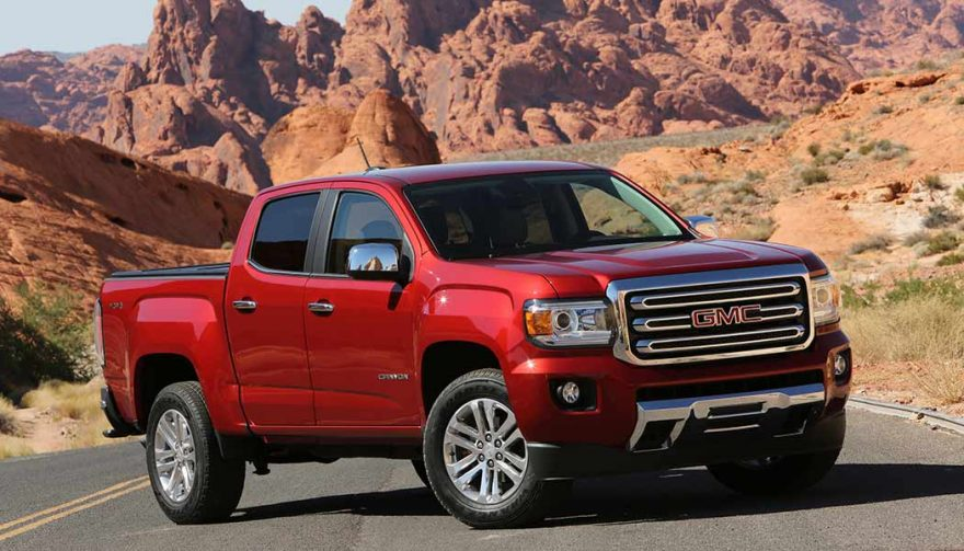 The GMC Canyon is one of the most fuel efficient trucks