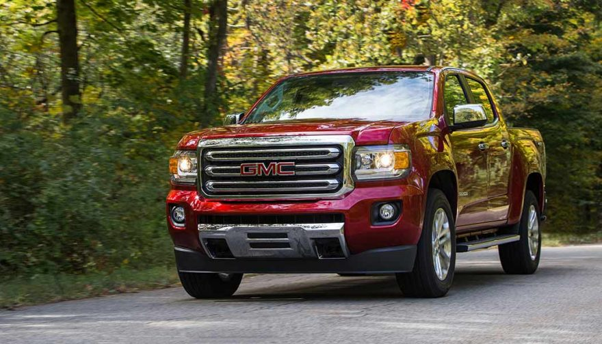 The GMC Canyon Diesel is the most fuel efficient truck