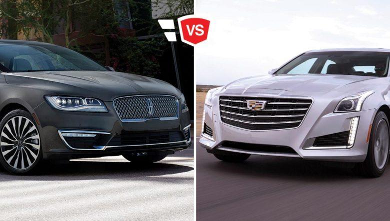 Lincoln Vs Cadillac >> Lincoln Mkz Vs Cadillac Cts 2018 Luxury Sedan Comparison