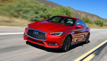 The Infiniti Q60 is one of the best selling sports cars