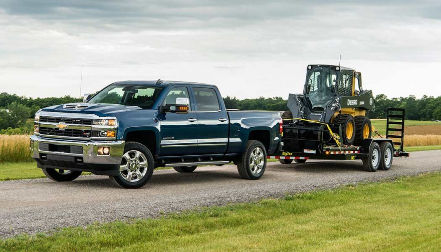 The Chevrolet Silverado 2500HD could be the best truck for towing