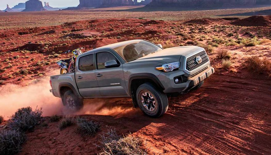 The Toyota Tacoma is one of the best fuel efficient trucks