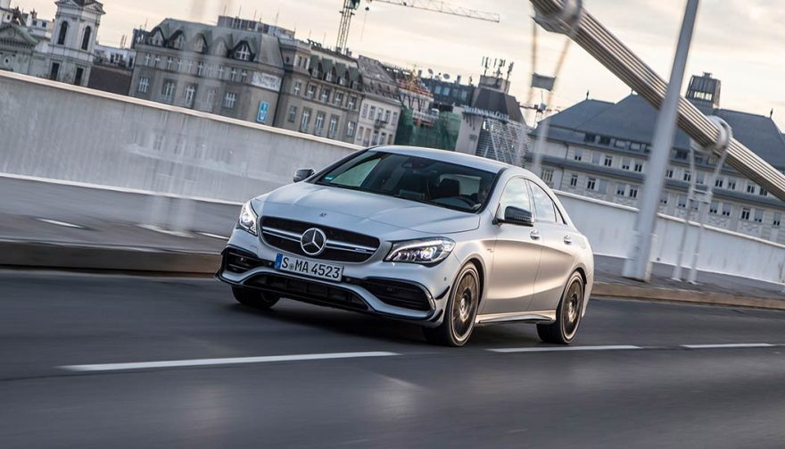 The Mercedes-Benz CLA is one of the best entry level luxury cars