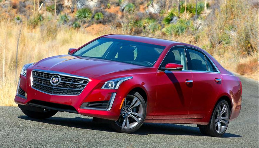 The 2014 Cadillac CTS is one of the most depreciating cars