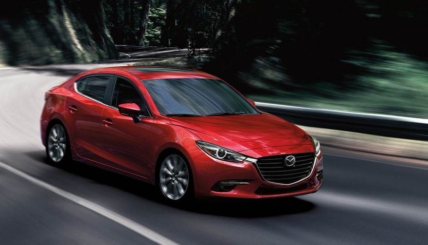The Mazda3 was one of the best selling compact cars in 2017