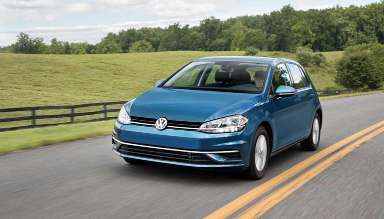 The Volkswagen Golf was one of the best selling compact cars in 2017