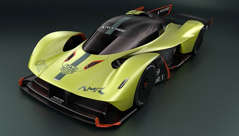Aston Martin Valkyrie AMR at the Geneva Auto Show
