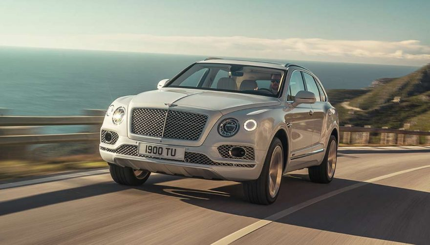 The new Bentley Bentayga Hybrid