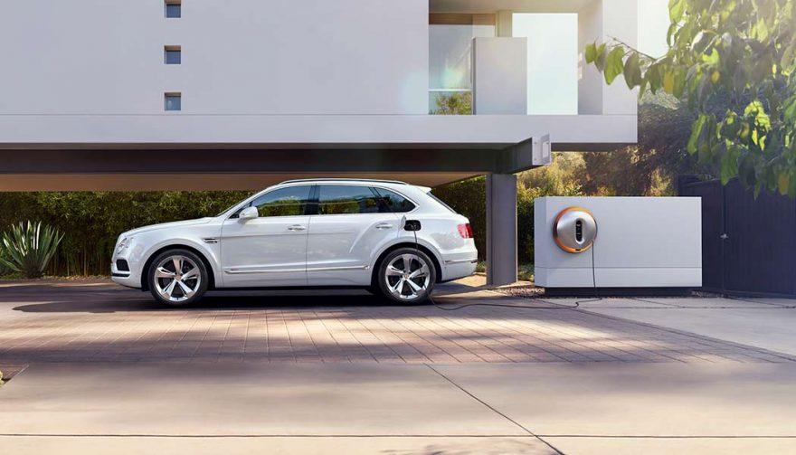 The all new Bentley Bentayga Hybrid luxury suv