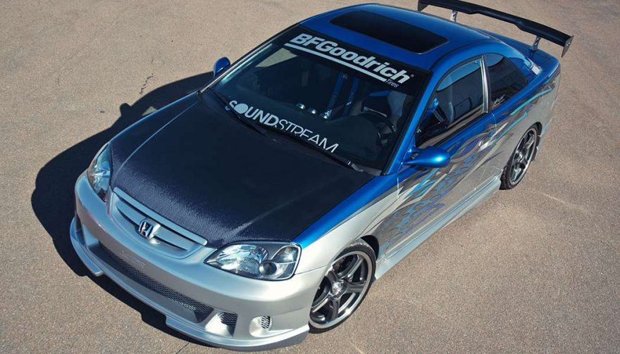 The Honda Civic is one of the best tuner cars