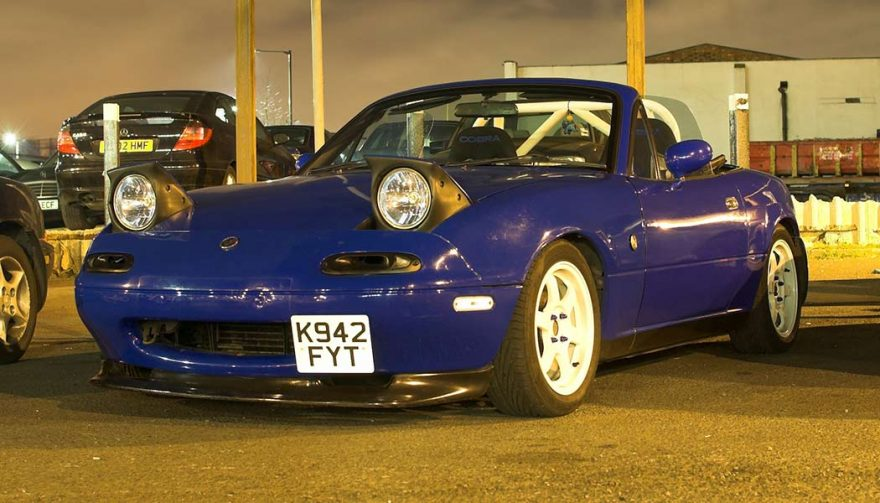 The Mazda Miata is one of the best tuner cars