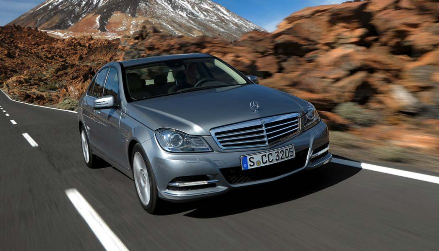 The 2014 Mercedes Benz C Class is one of the most depreciating cars