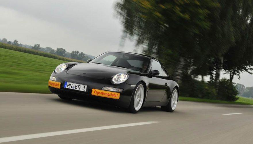 The eRUF Model A RUF Porsche