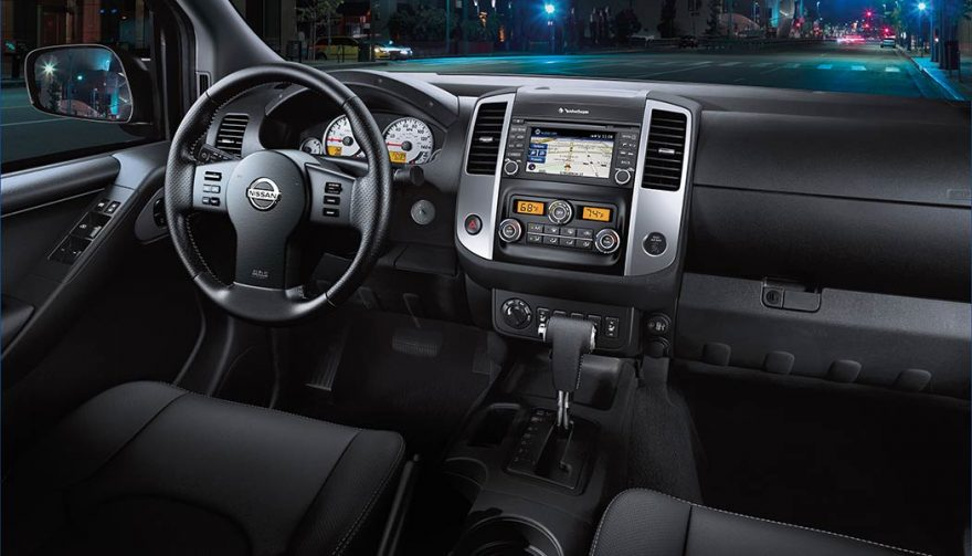 The 2018 Nissan Frontier interior