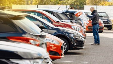 A shopper knows what to look for when buying a used car