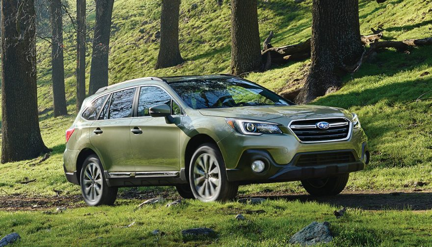 Subaru Ouback is one of the Safest Cars
