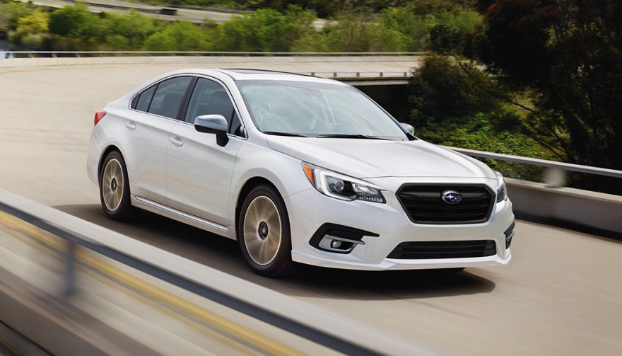 Subaru Legacy is one of the Safest Cars