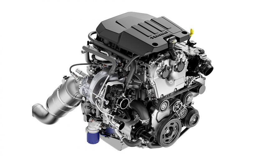 2.7L Turbo with Active Fuel Management and stop/start technology