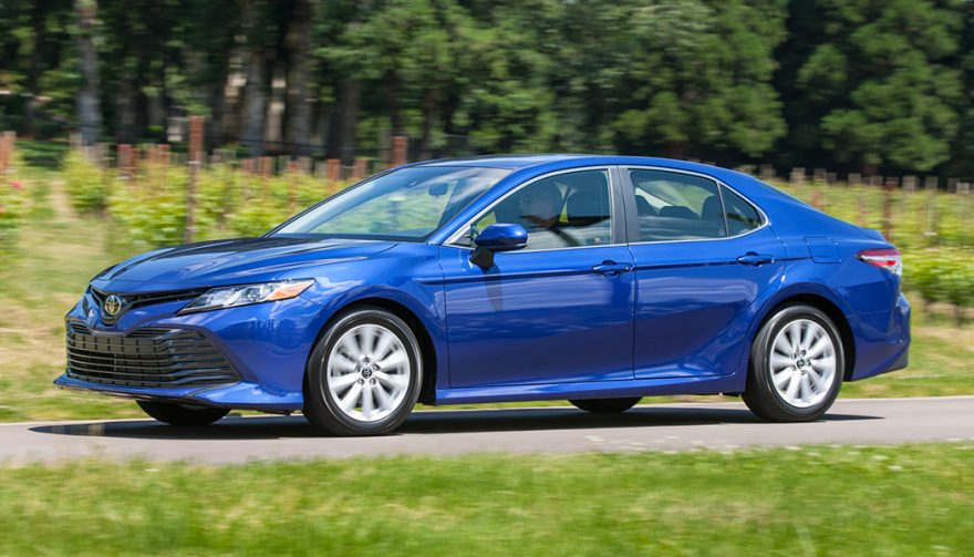 Toyota Camry is one of the Safest Cars