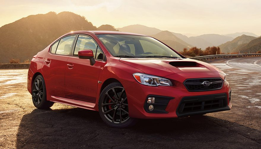 Subaru WRX is one of the Safest Cars