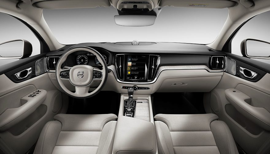 New 2019 Volvo S60 Interior