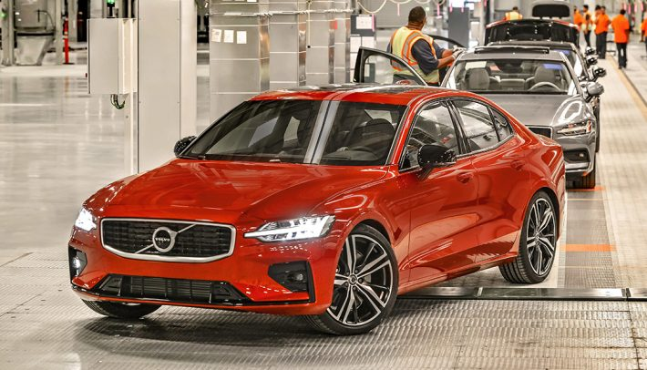 The new 2019 Volvo S60 built in South Carolina