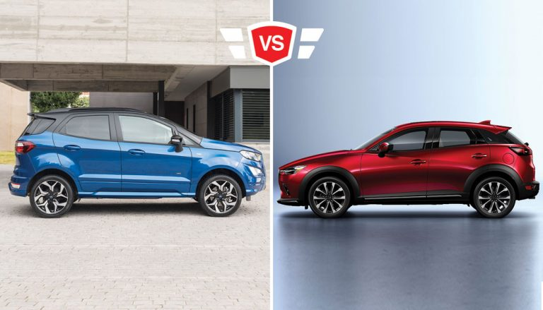ford ecosport vs mazda cx-3