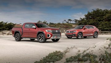 Volkswagen Atlas Cross Sport and Tanoak Concept