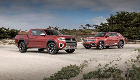 Volkswagen Atlas Cross Sport and Tanoak Concept