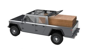 A small startup in New York has done what most car makers have not yet imagined. The Bollinger B2 is a concept electric vehicle that's a pickup truck.