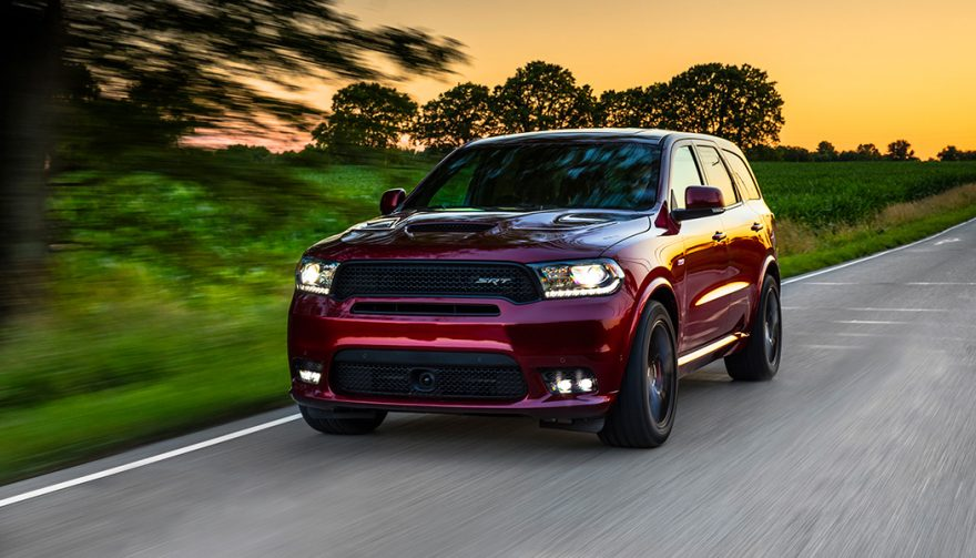 The Dodge Durango SRT packs SRT's biggest V8 into FCA's biggest SUV to bring 475 hp to up to seven people at the same time.