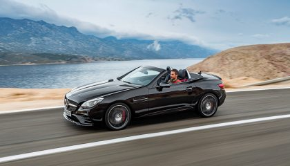 An AMG Roadster is one of the best convertibles for summer cruising