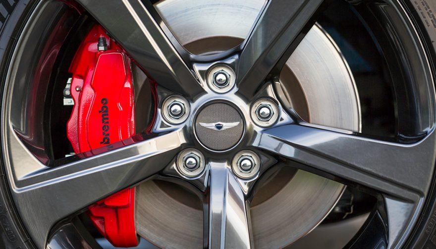 2019 Genesis G70 Rims and Brakes
