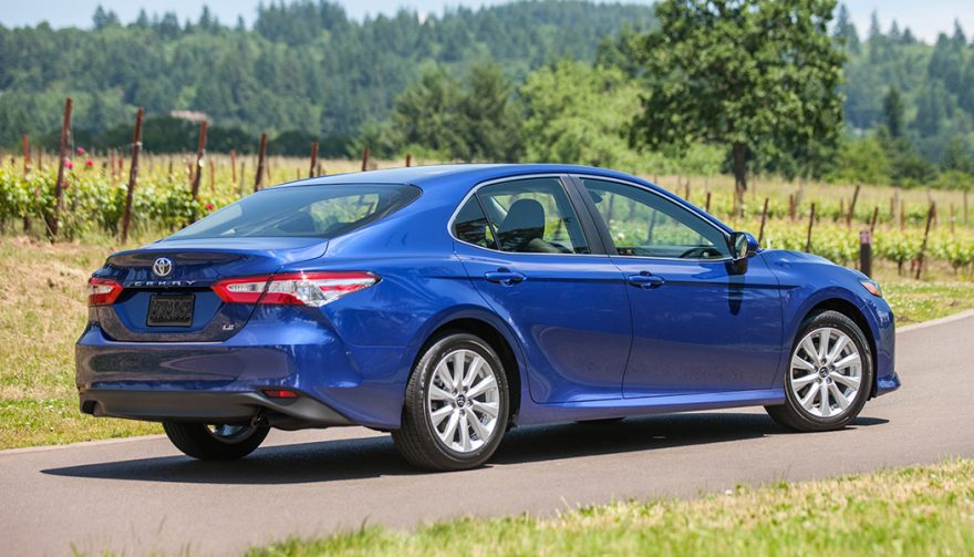 Toyota Camry Review Rear End