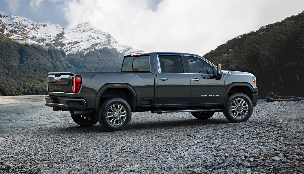 the 2020 gmc sierra hd is loaded with hightech towing
