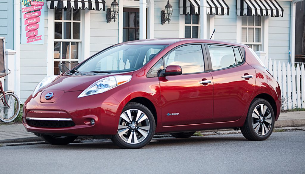 Nissan Leaf - Best Used Electric Cars