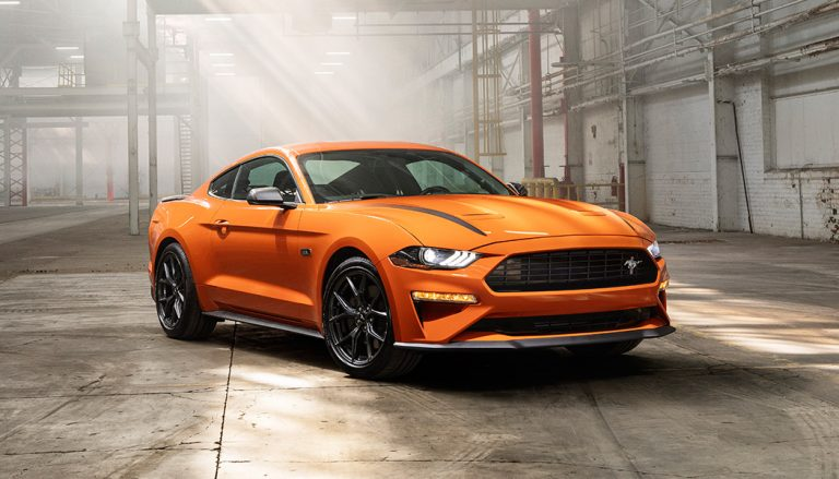 The 2020 Ford Mustang High Performance Package