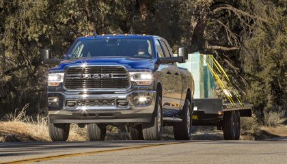 More than just rivalry between brands. This one's all in house. These are the most reliable Ram engines. Powering pickups big and bigger.