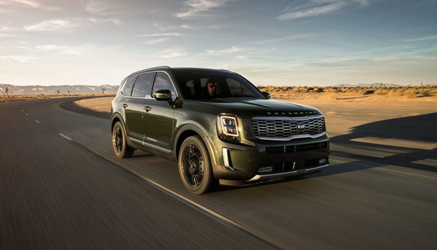 The 2019 Kia Telluride crossover is the company's biggest yet. We drive it to see if the massive and rough exterior translates to a family-friendly interior