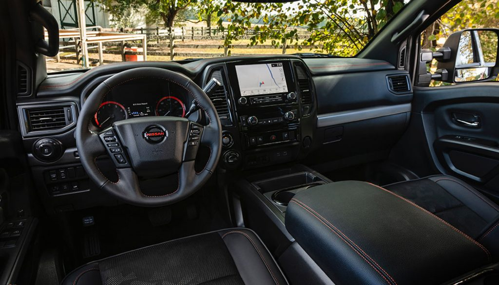 The Nissan Titan Xd Gets A Facelift New Interior And More