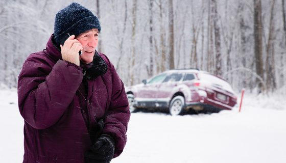 Winter isn't always a wonderland. Sometimes it'll catch you up. We're here with help on what to do if you get your car stuck in snow
