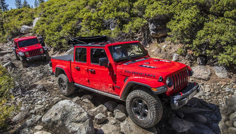 2020 Jeep Gladiator Is A Jeep A Pickup And A Convertible