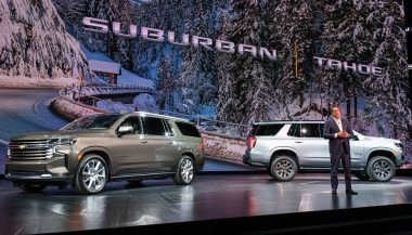 The 2021 Chevrolet Tahoe and Suburban redesign the big SUVs with more tech, more space, and a class-exclusive diesel option