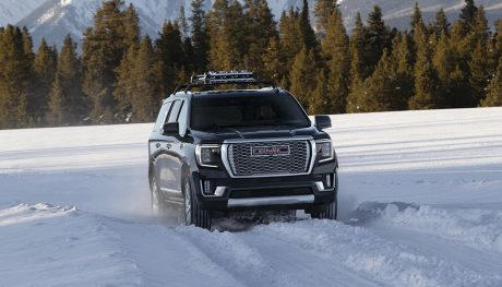 The 2021 GMC Yukon has grown, inside and out. It's also gotten more luxury features, a nicer interior, and new suspension options for a better ride