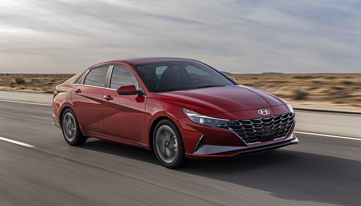 All-new, the 2021 Hyundai Elantra adds some of the sharpest looks in the segment along with a host of impressive comfort and convenience features