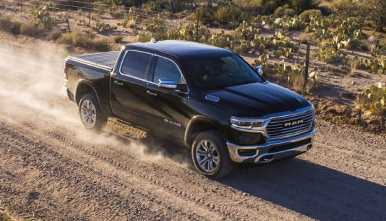 We drive one of the most luxurious pickups around. The 2020 Ram 1500 Laramie Longhorn offers loads of capability and plenty of comforts