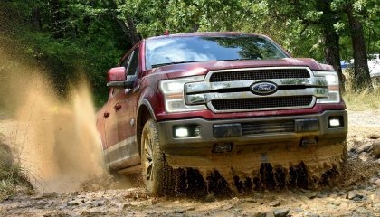 The 2020 Ford F-150 King Ranch offers up the best-selling truck in the world with the added luxury of soft and supple leather everywhere