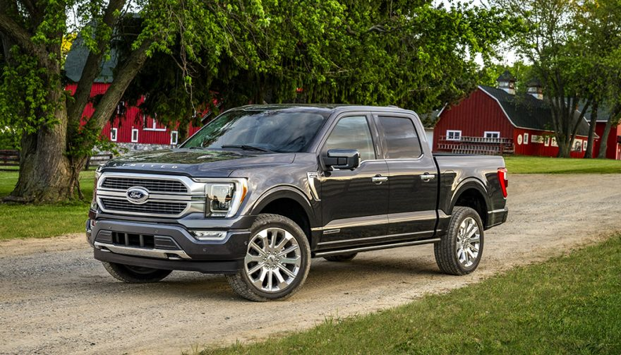 The biggest truck in town. The 2021 Ford F-150 adds more tech, electrical power for the engine and your tools, and more truck stuff you'll lovea